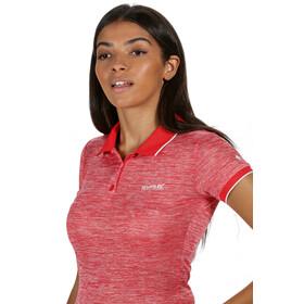 Regatta Remex II Camiseta Manga Corta Mujer, red sky